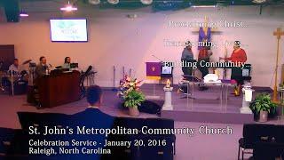 Celebration Service - March 20, 2016