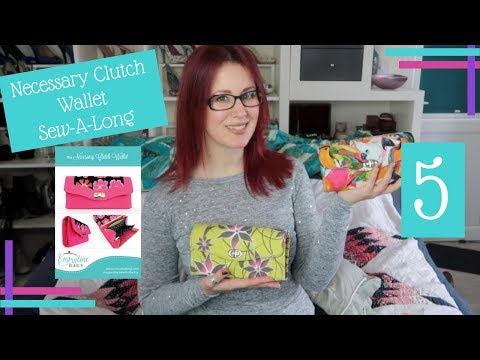 How To :: Necessary Clutch Wallet Sew-A-Long :: Finishing The Wallet