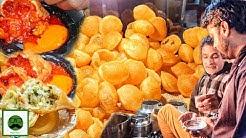 Current Wala Golgappa, World Famous Samosa & More | Indian Street Food | Ambala | Veggiepaaji