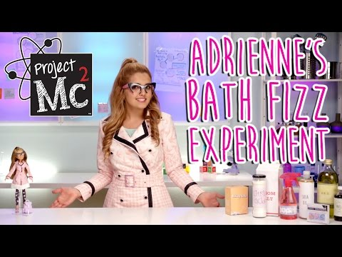 Project Mc² | Adrienne Attoms Bath Fizz Experiment + Doll | Cast Unboxing: Victoria Vida