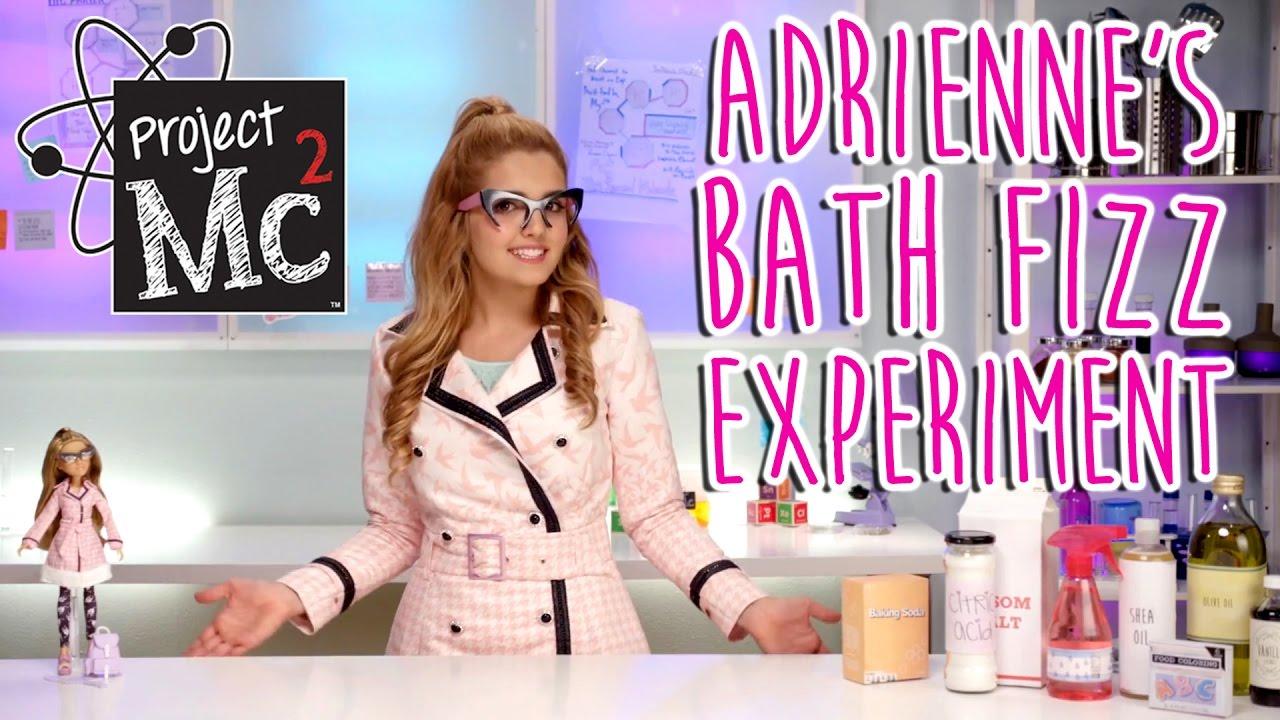 Project Mc² | Adrienne Attoms Bath Fizz Experiment + Doll | Cast ...