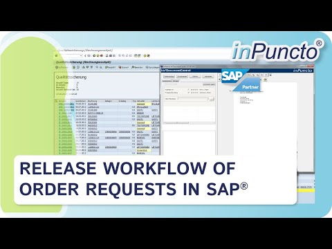 Purchase order release workflow in SAP