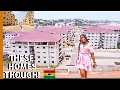 Are these THE BIGGEST GATED ESTATE HOUSES in Accra Ghana? | LIFE IN GHANA |GHANA HOUSE