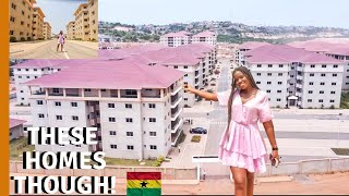Are these THE BIGGEST GATED ESTATE HOUSES in Accra Ghana  LIFE IN GHANA GHANA HOUSE