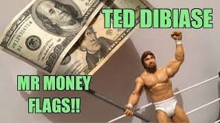 WWE ACTION INSIDER: Ted Dibiase Summerslam Heritage Mattel Wrestling Figure Flashback Toy Review