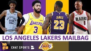 Lakers Rumors: LeBron James & Anthony Davis Struggling? + Damian Lillard vs. Ja Morant | Mailbag