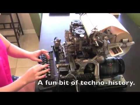 Teletype M15 testing