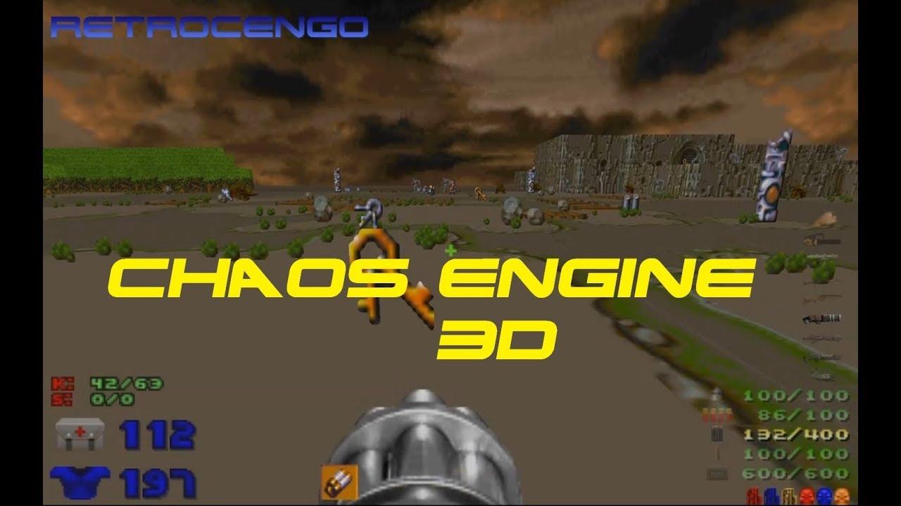 CHAOS ENGINE 3D Amiga game remake om DOOM Engine