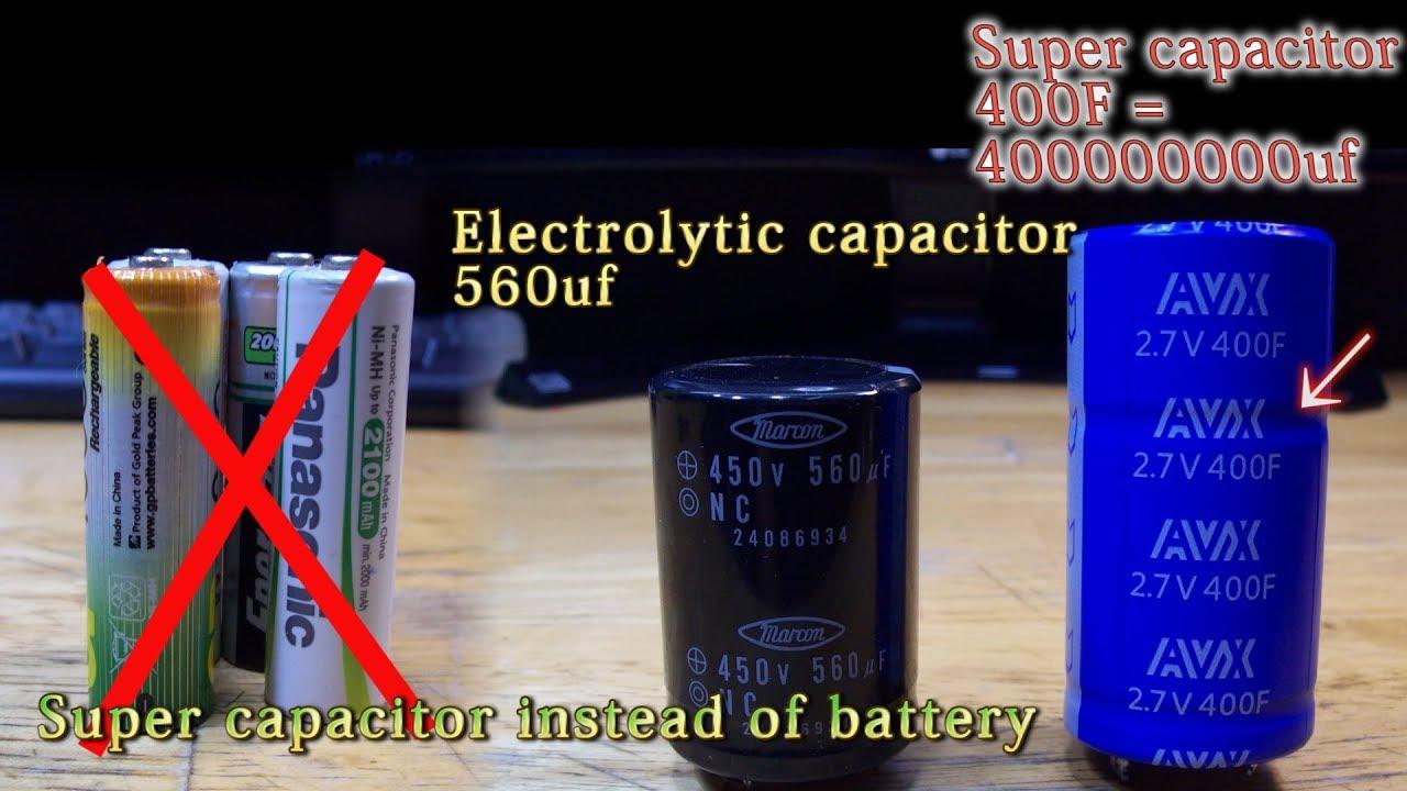 Supercapacitor test