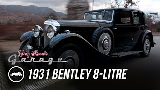 1931 Bentley 8-Litre Mulliner Sedan - Jay Leno's Garage