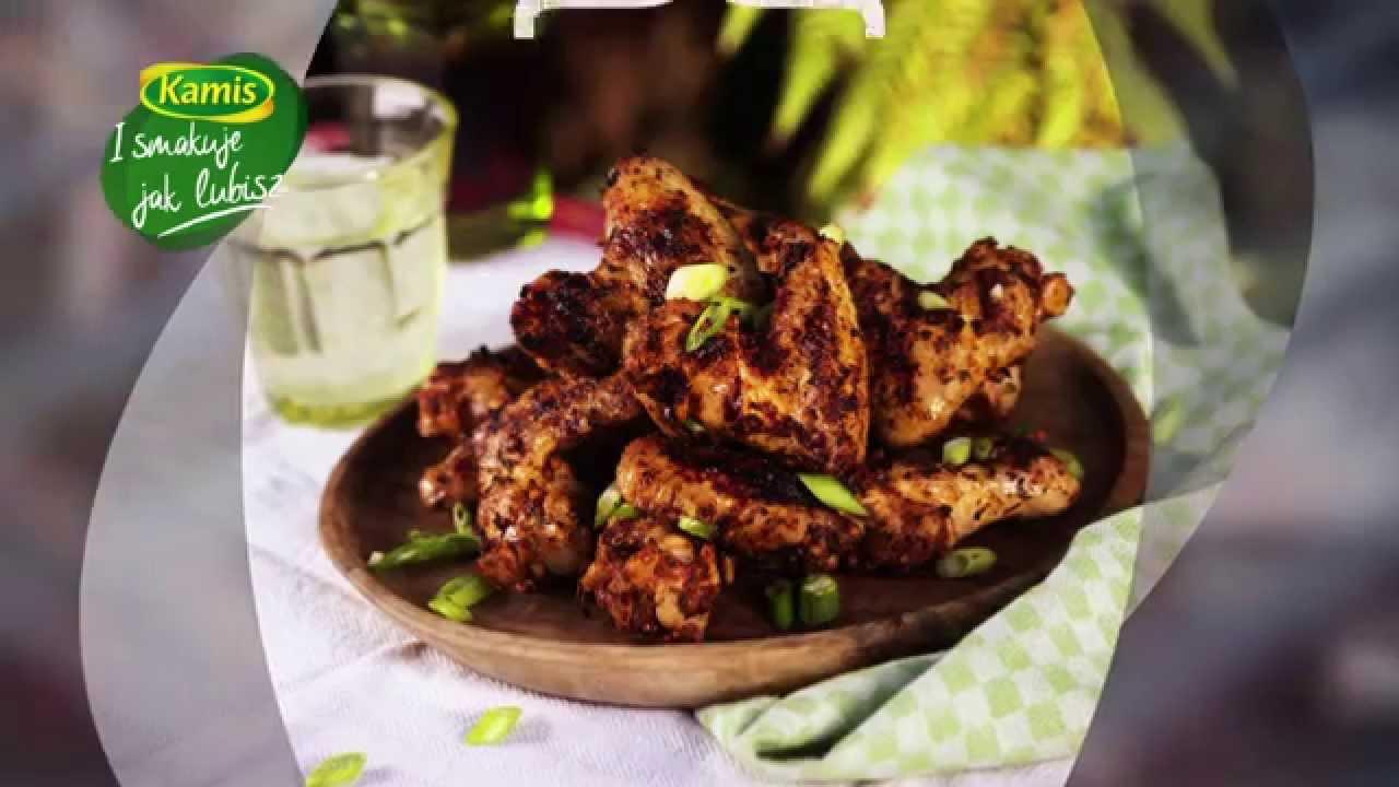 Przepis Na Grillowane Skrzydelka Kurczaka W Pikantnej Przyprawie