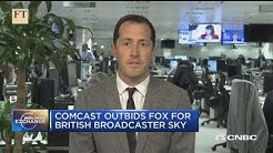 FT:  Sky deal may be transformational for Comcast