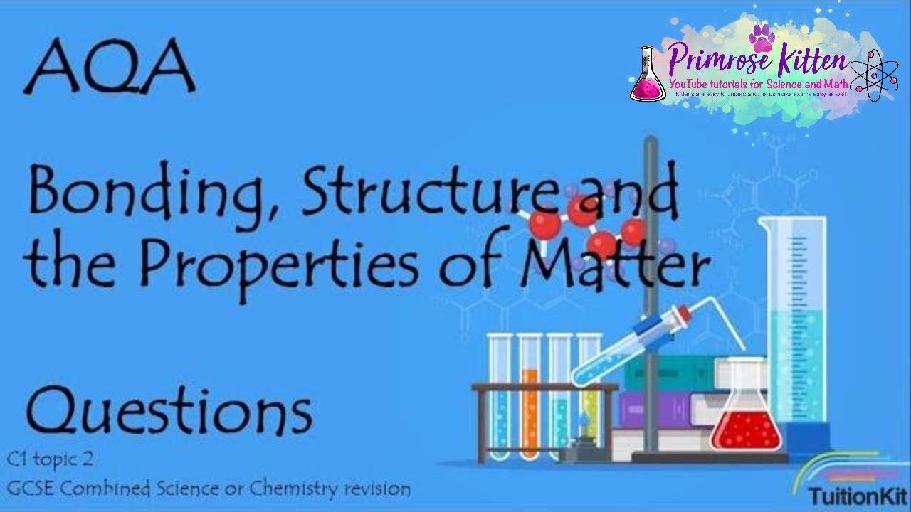 bonding structure aqa c1 topic 2 quick fire questions gcse 9 1 rh youtube com Virtual Chemistry Interactive Periodic Table