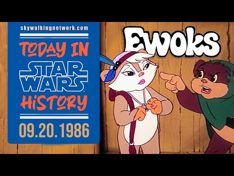 """TODAY IN STAR WARS HISTORY: 9/20/1986 - """"Ewoks"""" episodes air on ABC-TV"""