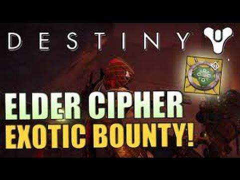Destiny: Get new Fallen exotics! Elder Cipher bounty guide