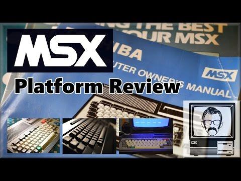 MSX System & Platform Review   Nostalgia Nerd