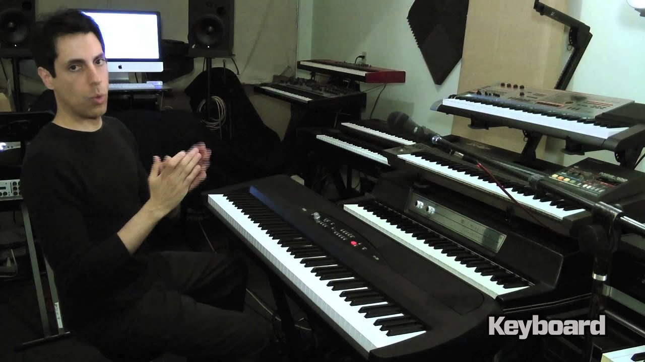 korg sp 280 digital piano first look youtube. Black Bedroom Furniture Sets. Home Design Ideas
