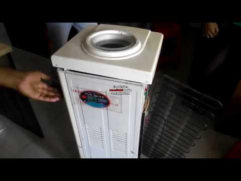 how to work a hot & cool water dispenser | how to connect water cooler |