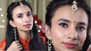 शादी में जाने का मेकअप कैसे करें | पार्टी लुक करना सीखें | Indian Beauty Blogger