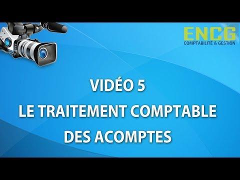 Ecole de Comptabilité- Cours :les Acomptes-ENCG Formation(5)
