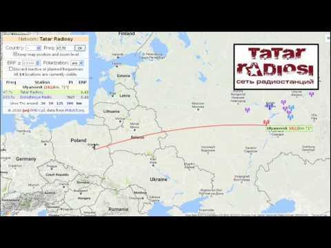 FM-DX: 67,70 (OIRT) Tatar Radiosi (RusFed/Tatarstan) via SpE