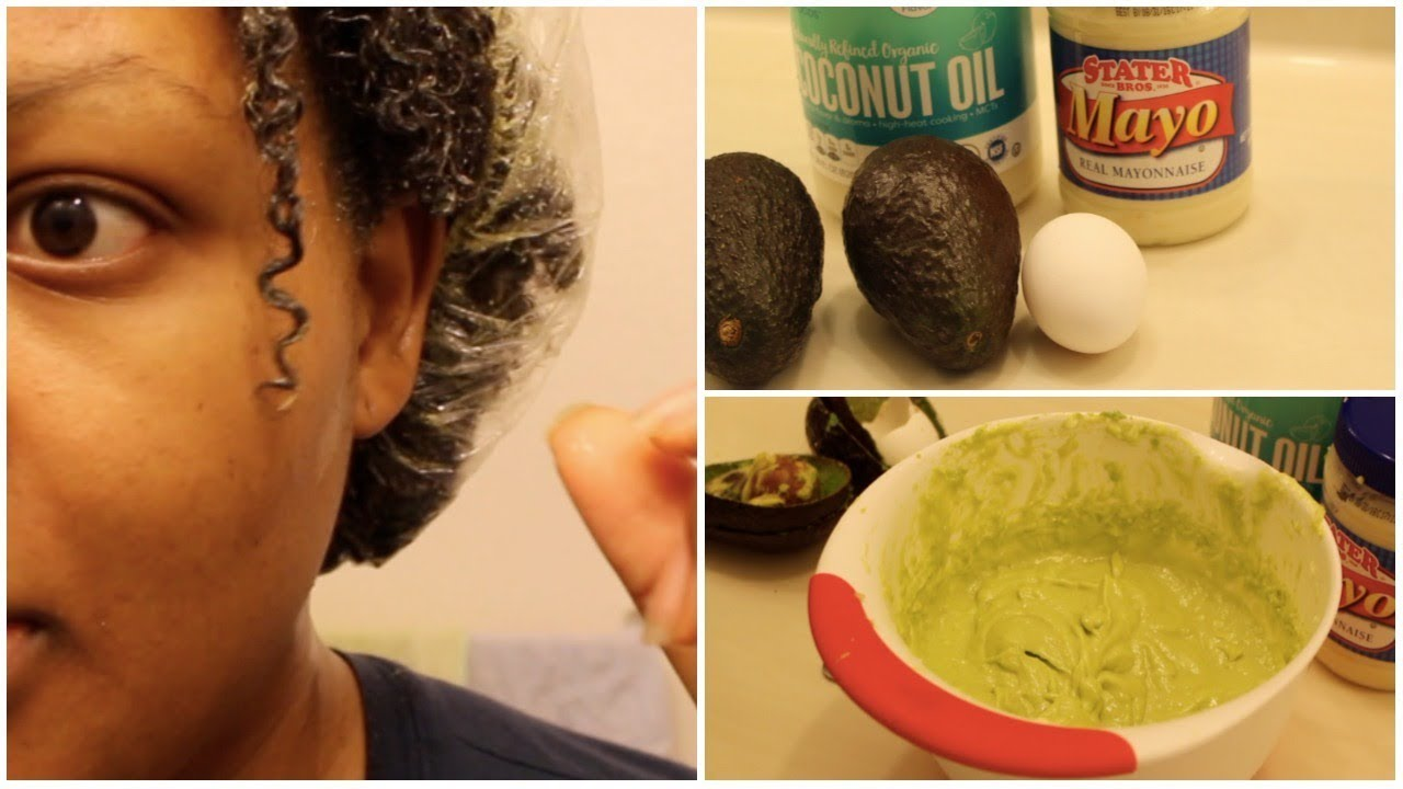 Diy Avocado And Egg Hair Mask Protein Treatment Deep Condition Youtube
