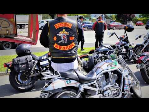 BANDIDOS MC NEW ZEALAND NATIONAL RUN CHRISTCHURCH 2017