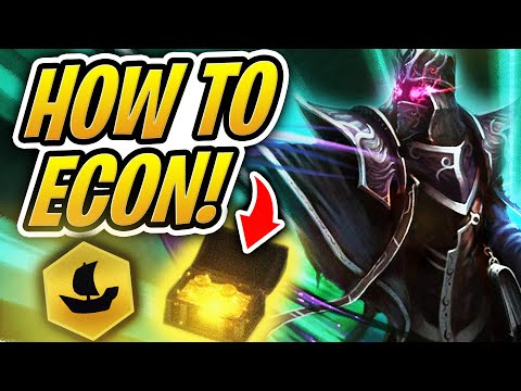 HOW TO ECON TO A *WIN* WITH PIRATES! | TFT | Teamfight Tactics | League Of Legends Auto Chess