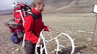 1045. Myśliwskie trofeum. Szpicbergen. The hunters trophy. Svalbard