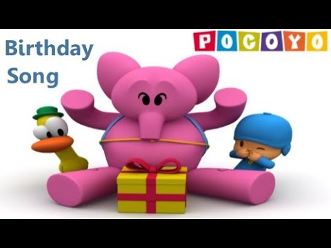 Pocoyo birthday surprise party | Pocoyo birthday song