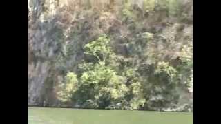 Rio Balsas, rescate en lancha