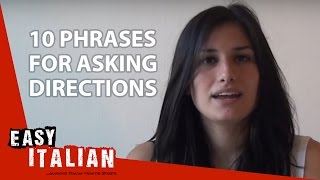 10 phrases for asking directions - Easy Italian Basic Phrases (4)