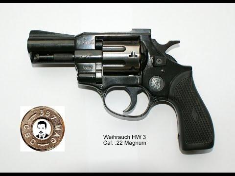 Präsentation Revolver Modell: Arminius Weihrauch HW3