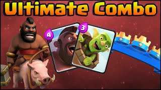 Clash Royale Ultimate Combo: Hog Rider + Goblin Barrel Deck and Strategy for Arena 5, 6, 7, 8, 9