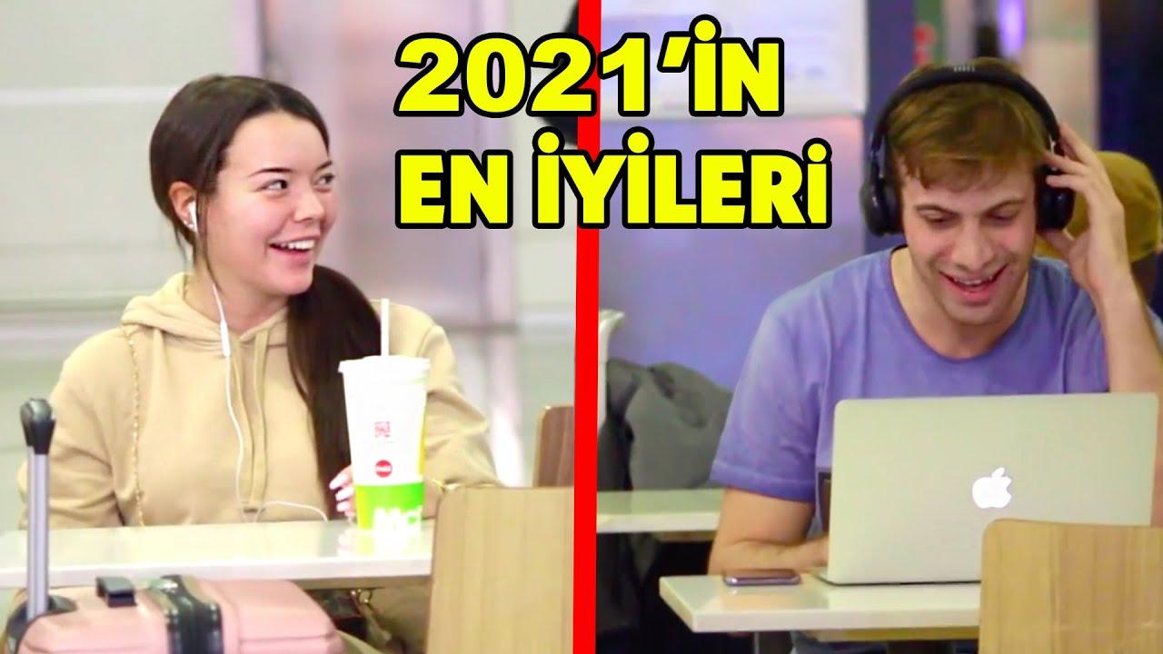 TÜRKİYE'DE YAPTIĞIMIZ EN KOMİK ŞAKA VE SOSYAL DENEYLER 2021
