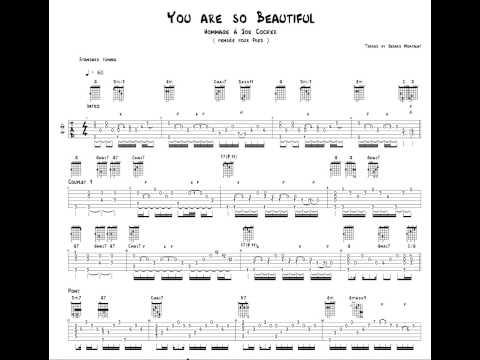 You Are So Beautiful (capo fret 1 )