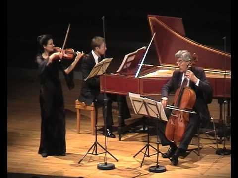 Biber Violin Sonata Nr 1, Ensemble Vintage: Ariadne Daskalakis, Rainer Zipperling, Gerald Hambitzer