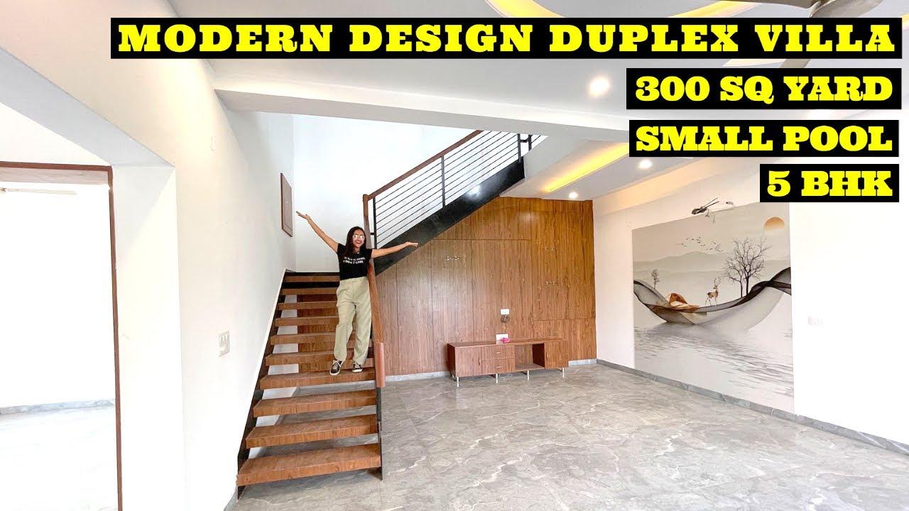 Best Modern Design Villa | House For Sale |  3800 Sq Ft 5 BHK Villa With Luxury Interior , India