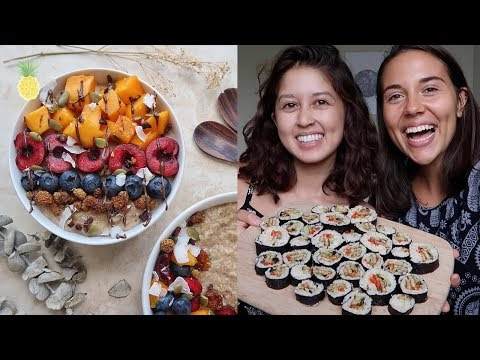 What I Eat In A Day in Miami w/ Caitlin 🍫💕