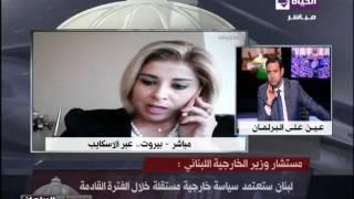 بالفيديو.. مستشار وزير خارجية لبنان: تكليف سعد الحريري لرئاسة الحكومة الأربعاء