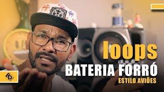 Loops Bateria de Forró estilo aviões Kontakt | Download Grátis | #EDTutoriais