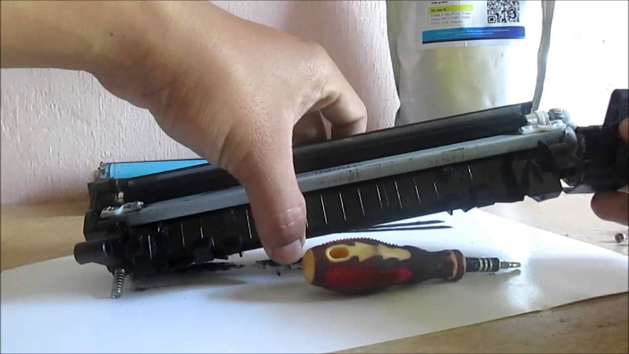 how to make hp printer accept refilled cartridge