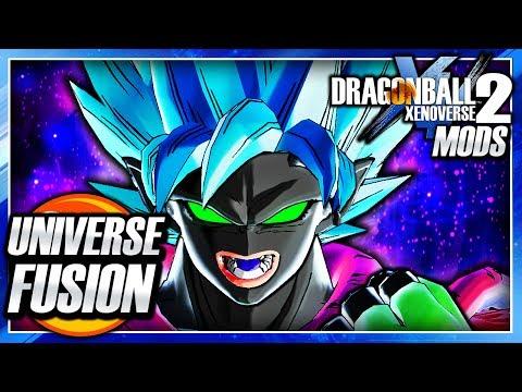 Dragon Ball Xenoverse 2 PC: Universal Fusion Bajin Muu DLC Pack (ALL CHARACTER FUSION) Mod Gameplay