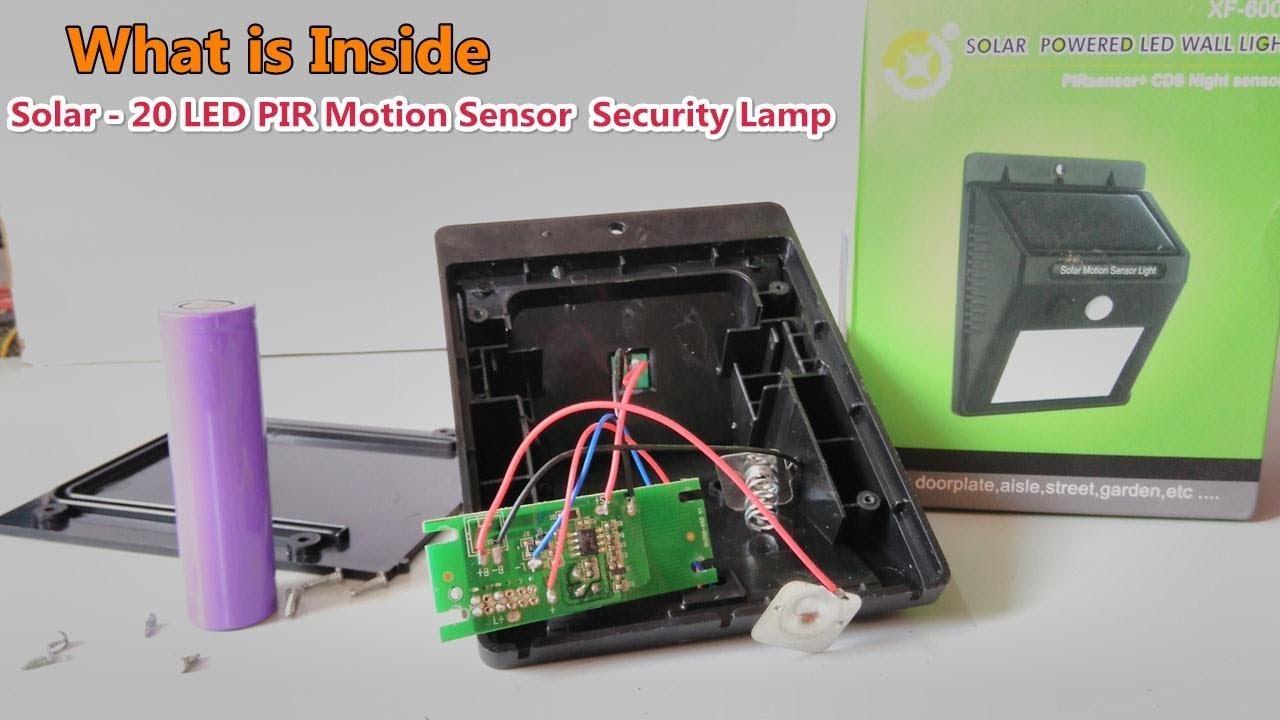 Solar Motion Light Wiring Diagram - Wiring Diagrams Rename on