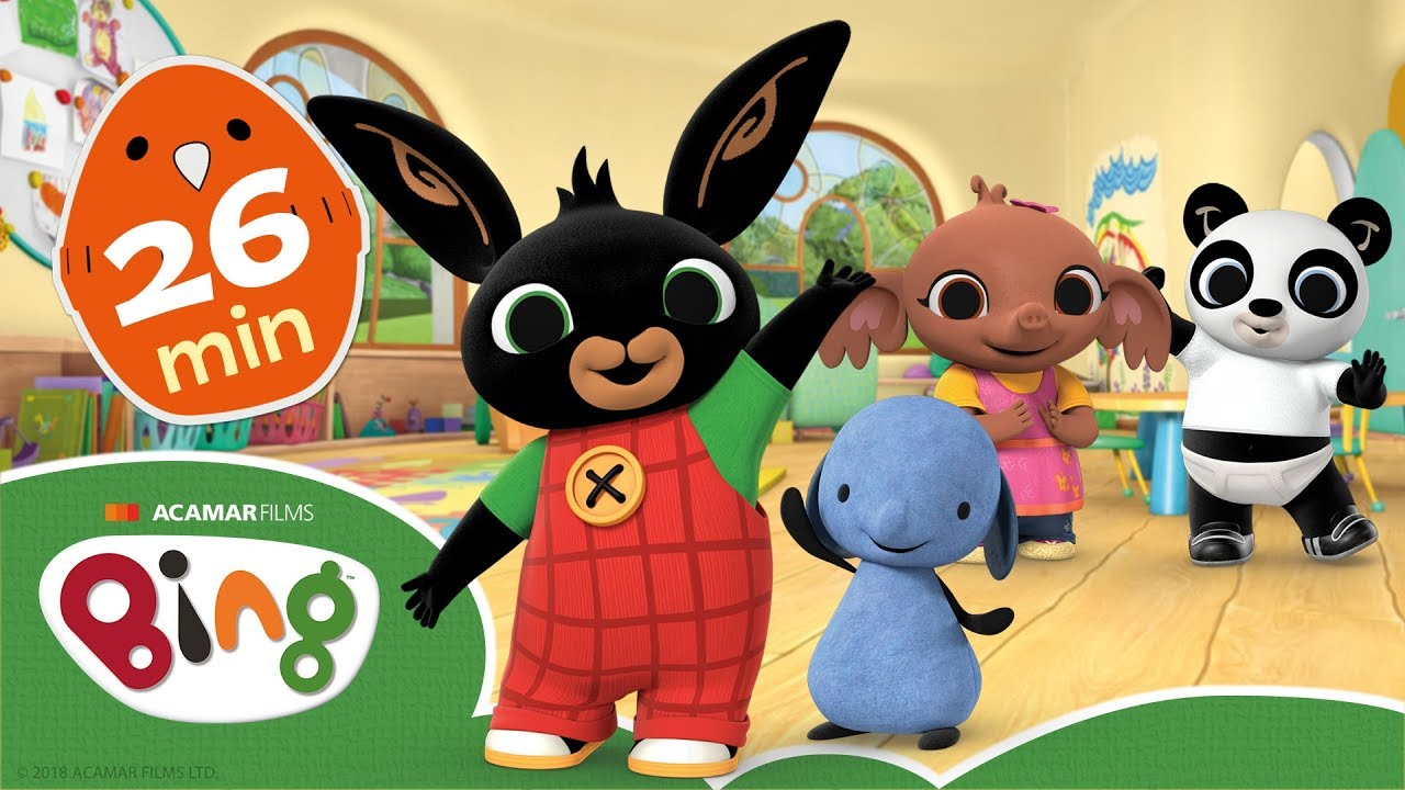Download Bing - At The Creche   Clip Compilation   Cartoons For Kids   Bing Bunny