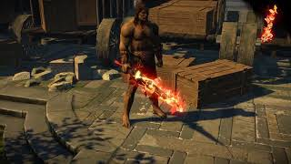 Path of Exile: Fire Weapon Effect