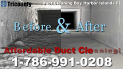 Duct Cleaning Bay Harbor Islands FL - 1-786-991-0208 - Clean Ducts Bay Harbor Islands Florida