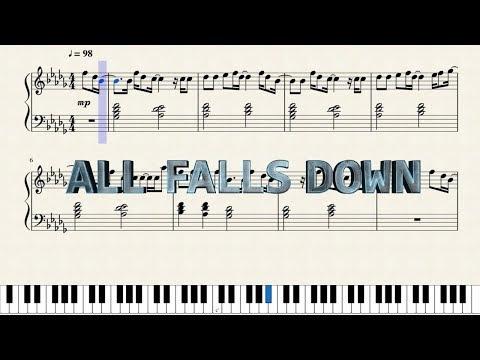 Alan Walker - All Falls Down - Sheetmusic
