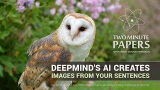 DeepMind منظمة العفو الدولية يخلق الصور من الجمل | دقيقتين ورقات #163