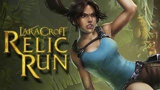 Lara Croft: Relic Run - Отличный раннер на Android(Обзор/Review)